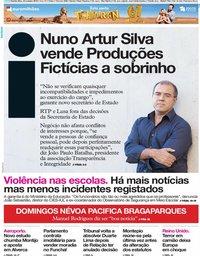 capa Jornal i de 24 outubro 2019