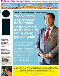 capa Jornal i de 25 outubro 2019