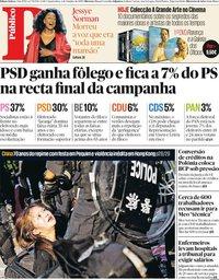 capa Público de 2 outubro 2019