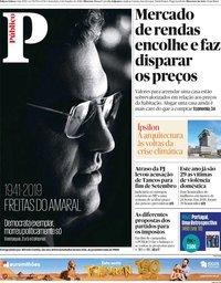 capa Público de 4 outubro 2019