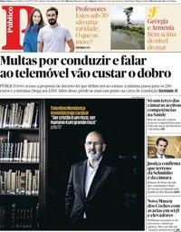 capa Público de 5 outubro 2019