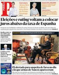 capa Público de 9 outubro 2019
