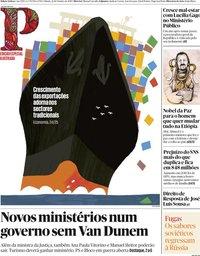 capa Público de 12 outubro 2019