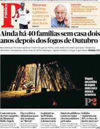 capa Público de 13 outubro 2019