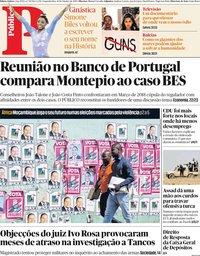 capa Público de 14 outubro 2019