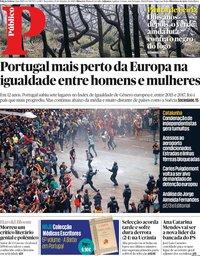 capa Público de 15 outubro 2019
