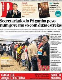 capa Público de 16 outubro 2019
