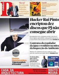 capa Público de 18 outubro 2019