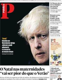 capa Público de 20 outubro 2019
