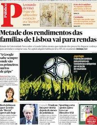 capa Público de 21 outubro 2019