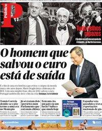 capa Público de 25 outubro 2019