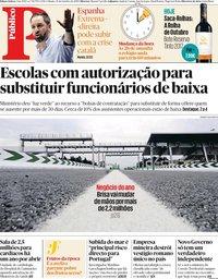 capa Público de 26 outubro 2019