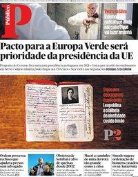 capa Público de 27 outubro 2019