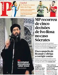 capa Público de 28 outubro 2019