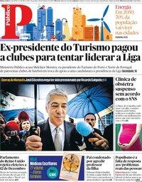 capa Público de 29 outubro 2019