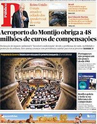 capa Público de 31 outubro 2019