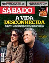 capa Revista Sábado de 10 outubro 2019