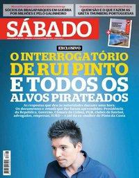 capa Revista Sábado de 17 outubro 2019