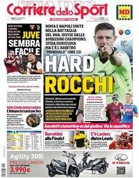 capa Corriere dello Sport de 2 novembro 2019