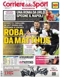 capa Corriere dello Sport de 3 novembro 2019