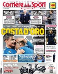 capa Corriere dello Sport de 7 novembro 2019