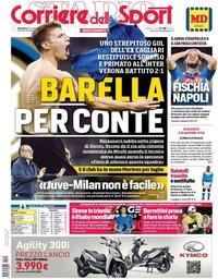 capa Corriere dello Sport de 10 novembro 2019