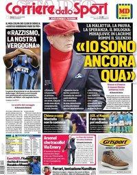 capa Corriere dello Sport de 30 novembro 2019