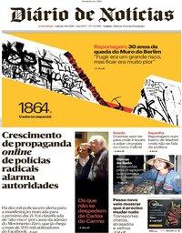 capa Diário de Notícias de 10 novembro 2019