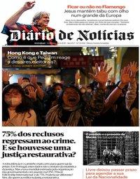capa Diário de Notícias de 26 novembro 2019