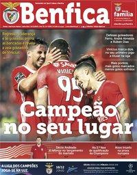 capa Jornal Benfica de 1 novembro 2019