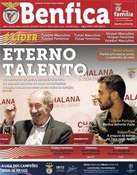 capa Jornal Benfica de 22 novembro 2019