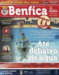 capa Jornal Benfica de 29 novembro 2019