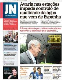 capa Jornal de Notícias de 5 novembro 2019