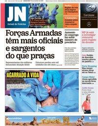 capa Jornal de Notícias de 7 novembro 2019