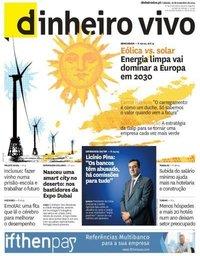 capa Jornal Dinheiro Vivo de 16 novembro 2019
