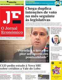 capa Jornal Económico de 22 novembro 2019