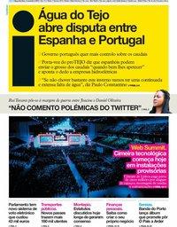 capa Jornal i de 4 novembro 2019