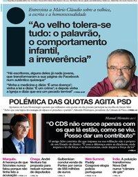 capa Jornal i de 5 novembro 2019