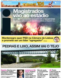 capa Jornal i de 11 novembro 2019