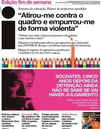 capa Jornal i de 22 novembro 2019