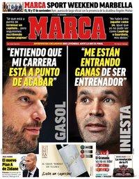 capa Jornal Marca de 1 novembro 2019