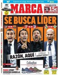 capa Jornal Marca de 2 novembro 2019