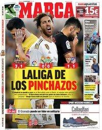 capa Jornal Marca de 3 novembro 2019