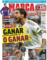 capa Jornal Marca de 6 novembro 2019