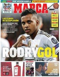 capa Jornal Marca de 8 novembro 2019