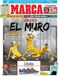 capa Jornal Marca de 9 novembro 2019