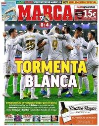 capa Jornal Marca de 10 novembro 2019