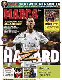 capa Jornal Marca de 11 novembro 2019