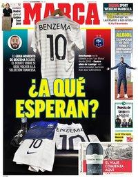 capa Jornal Marca de 13 novembro 2019