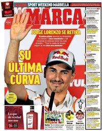 capa Jornal Marca de 15 novembro 2019